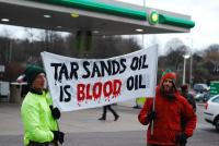 Brighton BP Tar Sands Protest