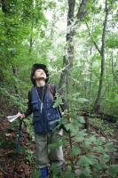Conservationists conducted a survey of the site over two years using GPS to mark important trees