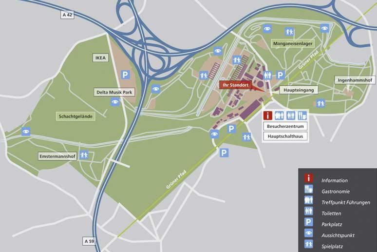Landschaftspark DuisburgNord Games Monitor
