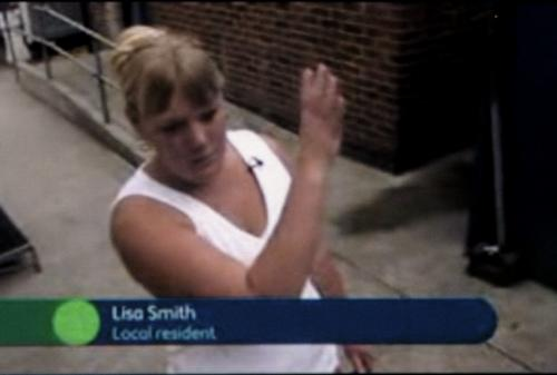 Lisa Smith from the Clays Lane traveller community: