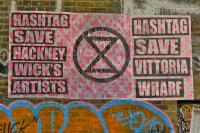 #SaveHackneyWick'sArtists