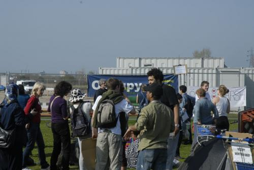 Occupy Olympic Camp on Leyton Marshes
