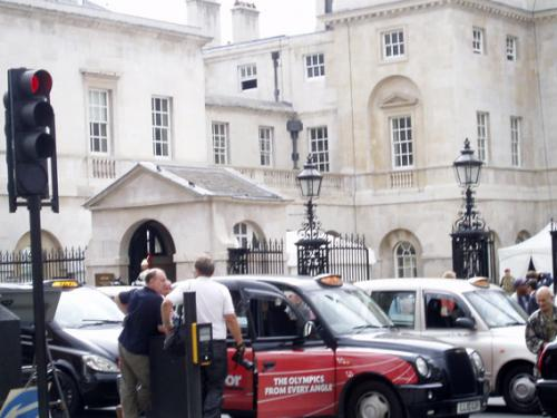 United Cabbies protest, Whitehall 17 july 2012