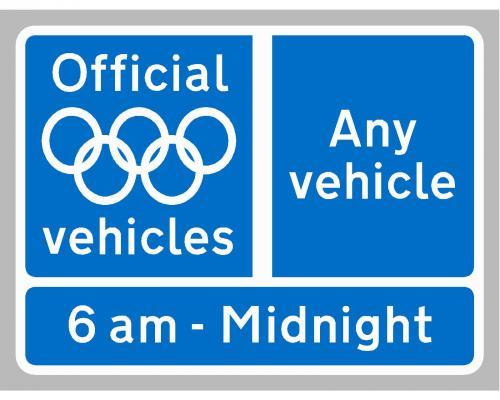 Olympic Lane begins