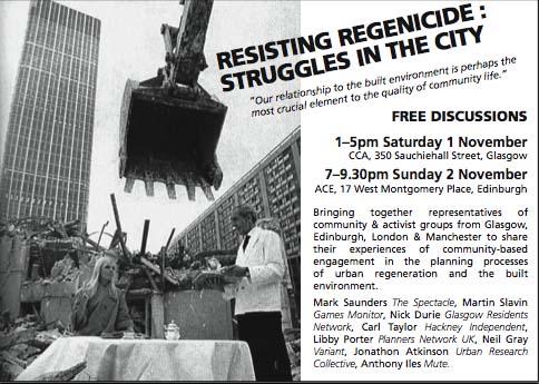 'Regenicide' flyer