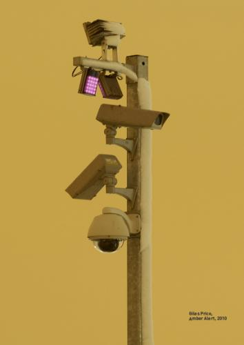 Surveillance mast: photo copyright Giles Price, from The Art of Dissent