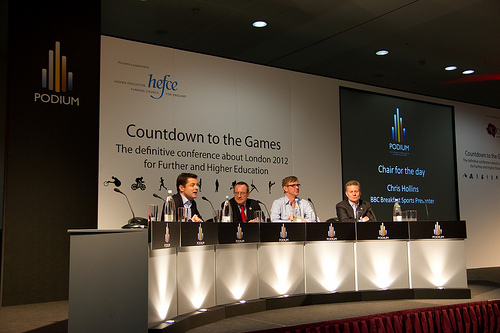 Podium Conference 2011: Panel at the Podium Conference Countdown to the Games February 2011.  Copyright ©2011 sytaffel